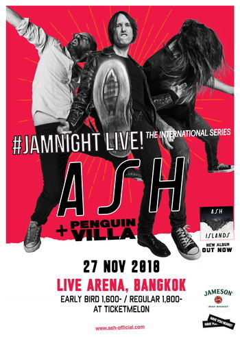 #JAMNIGHT Live! with Ash