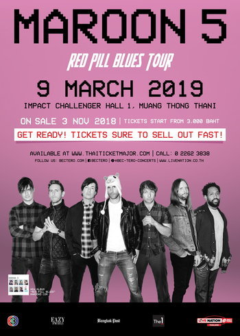 Maroon 5 Red Pill Blues World Tour