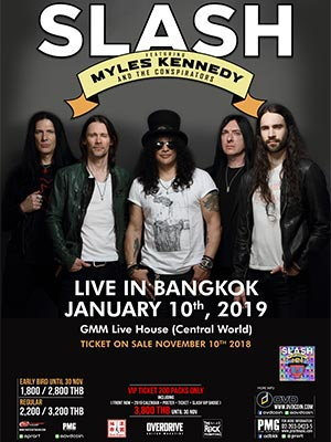 SLASH Featuring Myles Kennedy Live in Bangkok