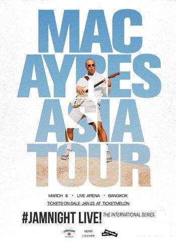 JAMnight Live! with Mac Ayres