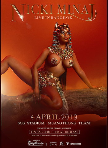 NICKI MINAJ LIVE IN BANGKOK