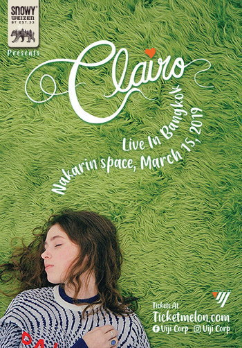 Snowy presents Clairo Live in Bangkok