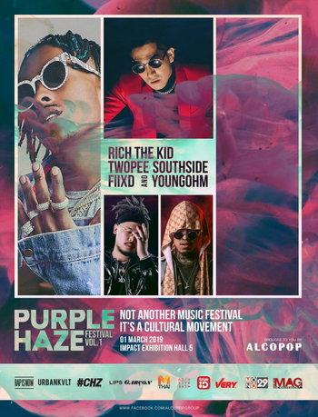 Purple Haze Festival Vol. 1