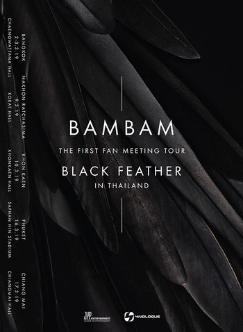 BAMBAM THE FIRST FAN MEETING TOUR 'BLACK FEATHER' IN THAILAND
