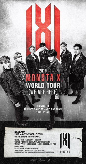 2019 MONSTA X WORLD TOUR 'WE ARE HERE' IN BANGKOK