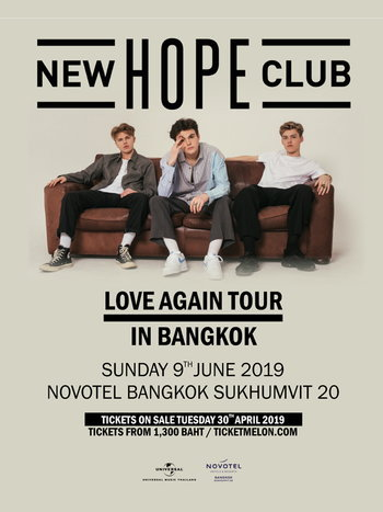 New Hope Club Love Again Tour In Bangkok