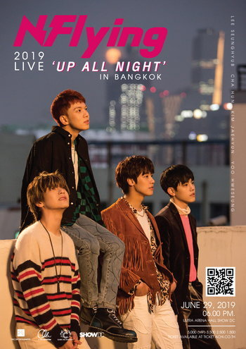 2019 N.Flying Live 'Up All Night' in Bangkok