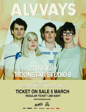 Alvvays Live in Bangkok 2019