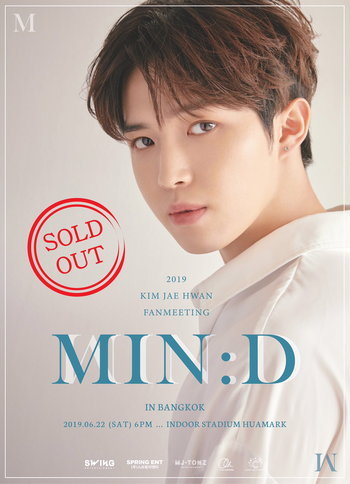 2019 KIM JAEHWAN FAN MEETING [MIN:D] in THAILAND