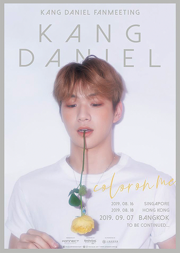 KANG DANIEL FANMEETING: COLOR ON ME IN BANGKOK