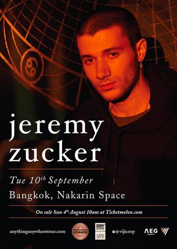 Jeremy Zucker Live in Bangkok