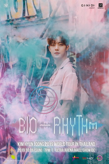 "KIM HYUN JOONG 2019 World Tour ""BIO-RHYTHM"" In Thailand"