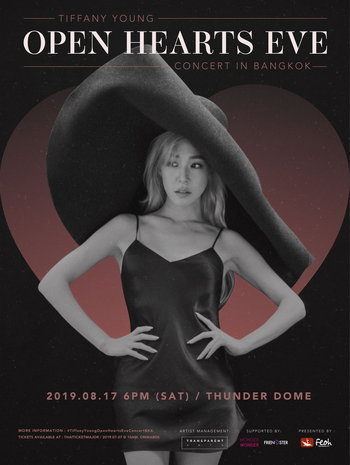 TIFFANY YOUNG OPEN HEARTS EVE CONCERT IN BANGKOK