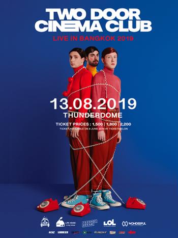 Two Door Cinema Club Live in Bangkok 2019