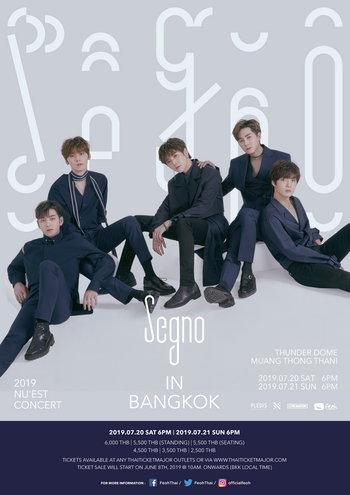 2019 NU'EST CONCERT [Segno] IN BANGKOK