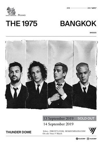 SINGHA CORPORATION PRESENTS THE 1975 LIVE IN BANGKOK