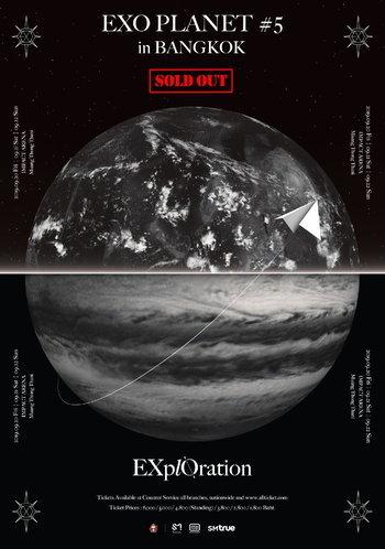 EXO PLANET #5 - EXplOration - in BANGKOK