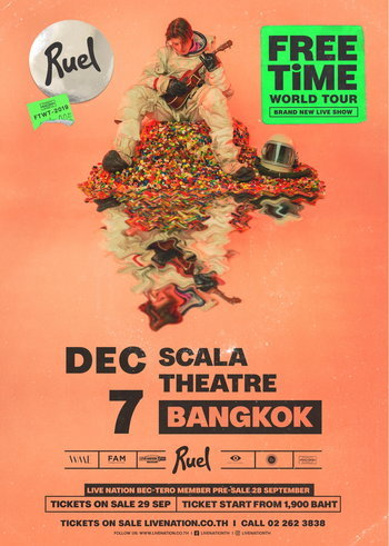 Ruel: Free Time World Tour Live in Bangkok