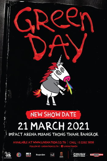 (Cancelled) Green Day Live in Bangkok 2021