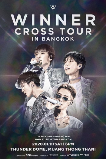 WINNER [CROSS] TOUR IN BANGKOK
