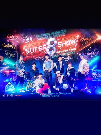 'SUPER JUNIOR WORLD TOUR - SUPER SHOW 8 : INFINITE TIME' in BANGKOK