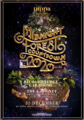 Midnight Forest Countdown 2020