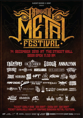 Bangkok Metal Festival 2019