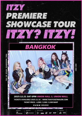 ITZY PREMIERE SHOWCASE TOUR 'ITZY? ITZY!' IN BANGKOK