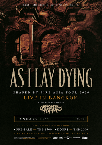As I Lay Dying Live in Bangkok