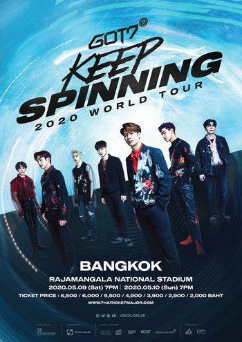 GOT7 2020 WORLD TOUR 'KEEP SPINNING' IN BANGKOK