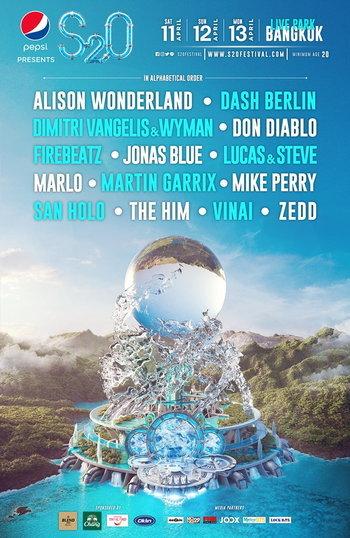 (Postponed) Pepsi presents S2O Songkran Music Festival 2020