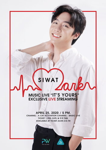 MARK SIWAT Music Live 'It's Yours' Exclusive Live Streaming