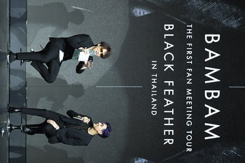 """BAMBAM THE FIRST FAN MEETING TOUR """"BLACK FEATHER"""" IN THAILAND PRESENTED BY AIS NEXT G"""