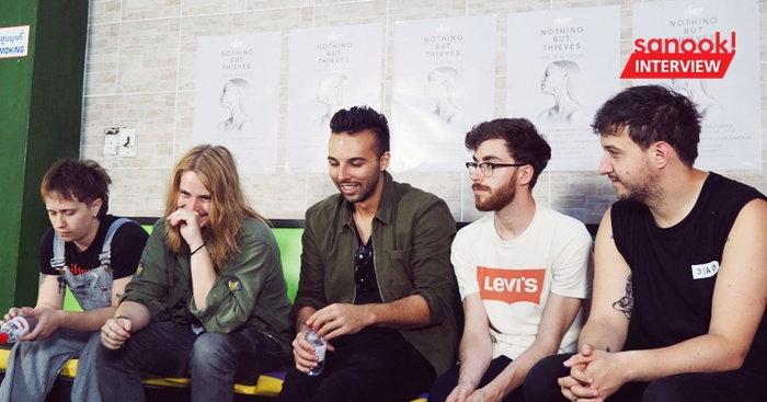 คุยกับ Nothing But Thieves ถึงอัลบั้มล่าสุดที่เกือบจะไม่ได้ปล่อย และวงการร็อคในปี 2018