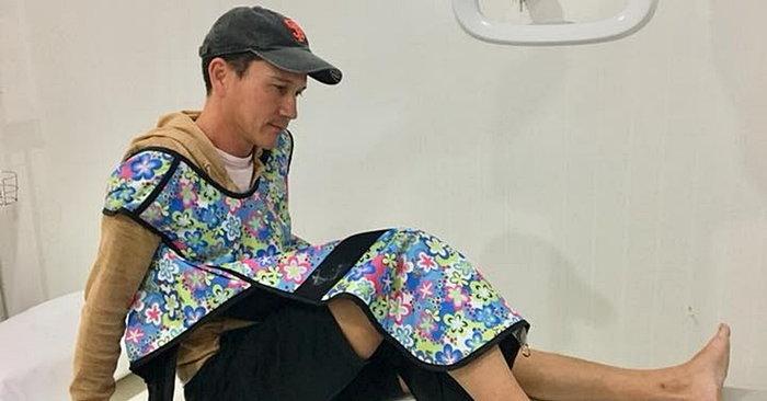 น้อย วงพรู เลื่อนถ่ายเอ็มวีเพลงใหม่ หลังประสบอุบัติเหตุกระดูกเท้าแตก