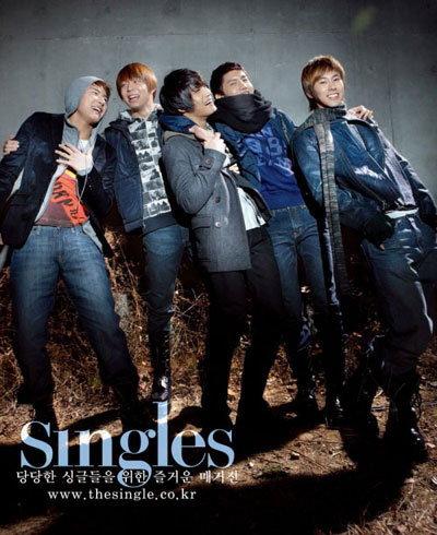 ดงบังชินกิ ฉลองปีใหม่ เปิดอัลบั้มภาพเรียลลีตี้ในนิตยสาร Singles