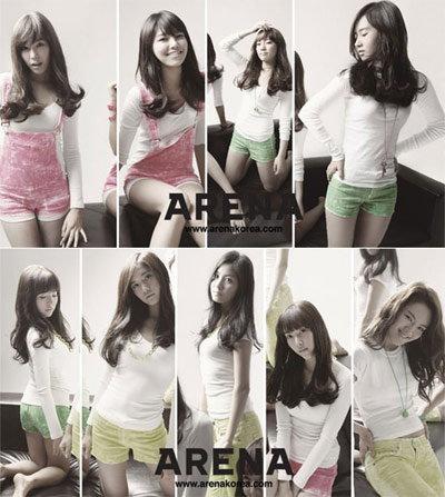 โซนยอชิแด (So Nyeo Shi Dae) เผยอัลบั้มภาพสุดงดงามใน ARENA KOREA