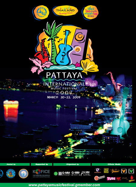 Pattaya International Music Festival 2009