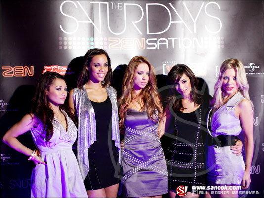มินิคอนเสิร์ตของ 5 สาวสุดฮอตจากเกาะอังกฤษ The Saturdays