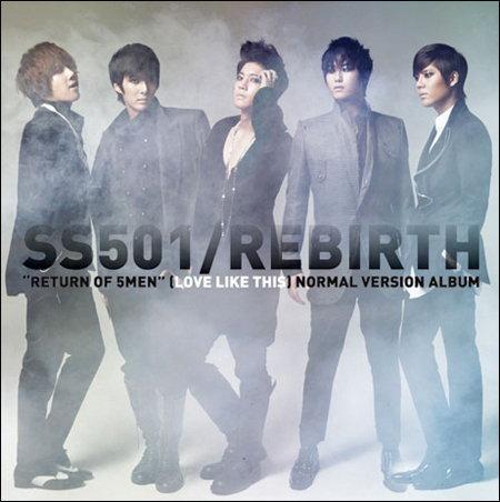 SS501 คัมแบ็คมินิอัลบั้มชุดใหม่ REBIRTH ในรอบ 1 ปี 7 เดือน