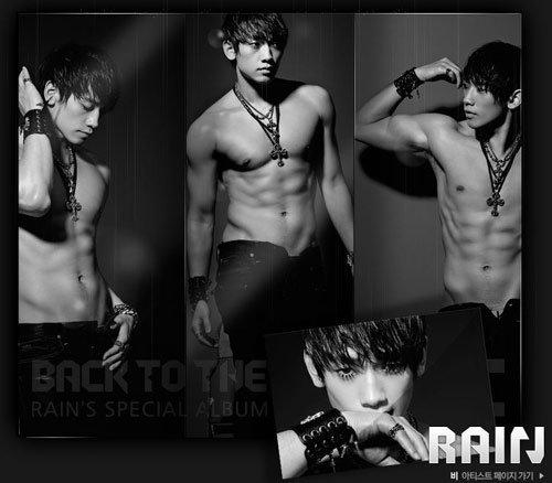 เรน (RAIN) คว้าแช้มป์ดาราที่มี หุ่นร้อนแรง มากที่สุดในเกาหลี