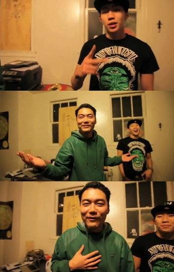 แจบอม (Jay Park) ฟีเจอร์ริ่งงานเพลง 'Dumbfoundead'