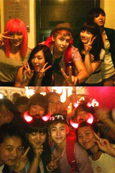 นิชคุณ (Nickhun) เผยภาพถ่ายร่วมกับ miss A พร้อมขอบคุณแฟนคลับสำหรับวันเกิดปีนี้