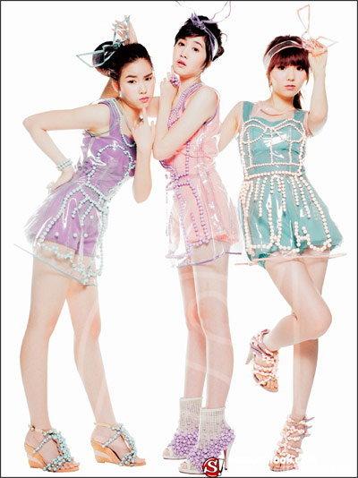 3 สาว สวีท ดี เปิดตัวความหวานแสบทรวง... หวังมัดใจจนหนุ่ม ๆ วัยทีน