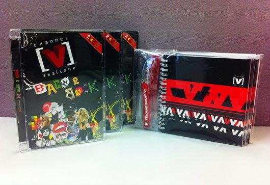 ประกาศรายชื่อผู้โชคดีที่ได้รับอัลบั้ม [V] Back 2 Back + Gift set จาก Channel [V]