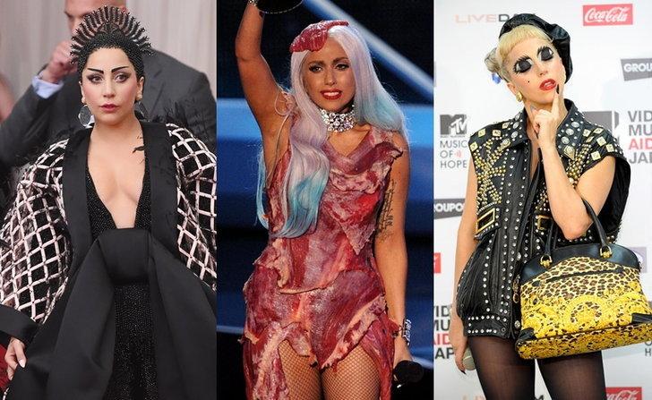 คิดถึง! Lady Gaga กับ 20 แฟชั่นหลุดโลกสุด strong!