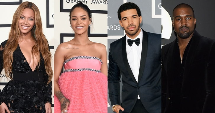 Beyoncé, Rihanna, Drake, Kanye West นำชิงรางวัล 59th Grammy Awards 2017