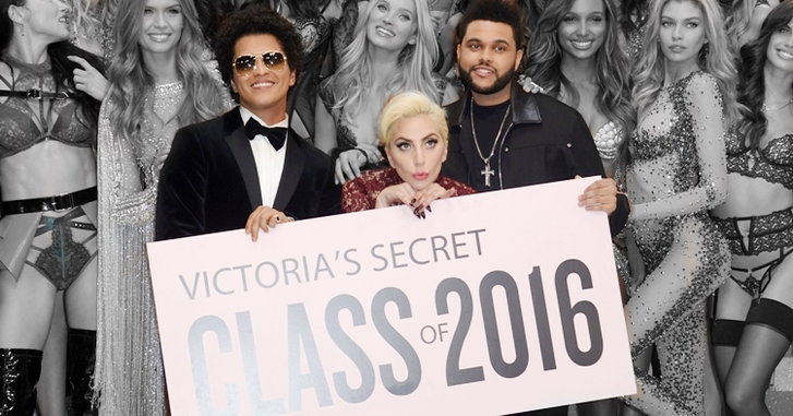 Lady Gaga, Bruno Mars, The Weeknd บนเวที Victoria's Secret 2016