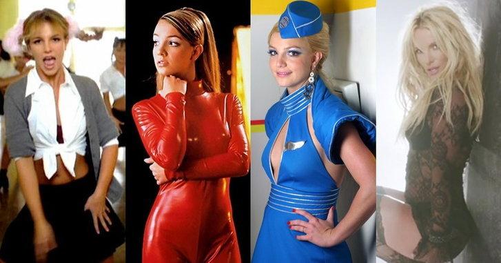 Britney Spears กับ 10 ชุดสุดแนวในมิวสิควิดีโอ