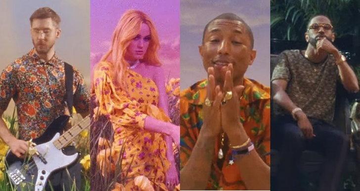 """Calvin Harris อะโลฮ่าท้าลมร้อนกับ Pharrell, Katy, Big Sean ในเอ็มวี """"Feels"""""""